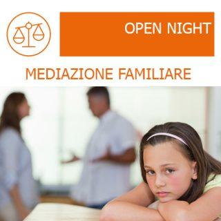 open night mediazione familiare